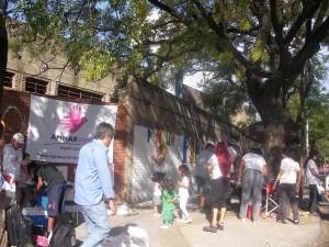 La Fundación AMMAR y su stand en el Festival por la Memoria la Verdad y la Justicia.