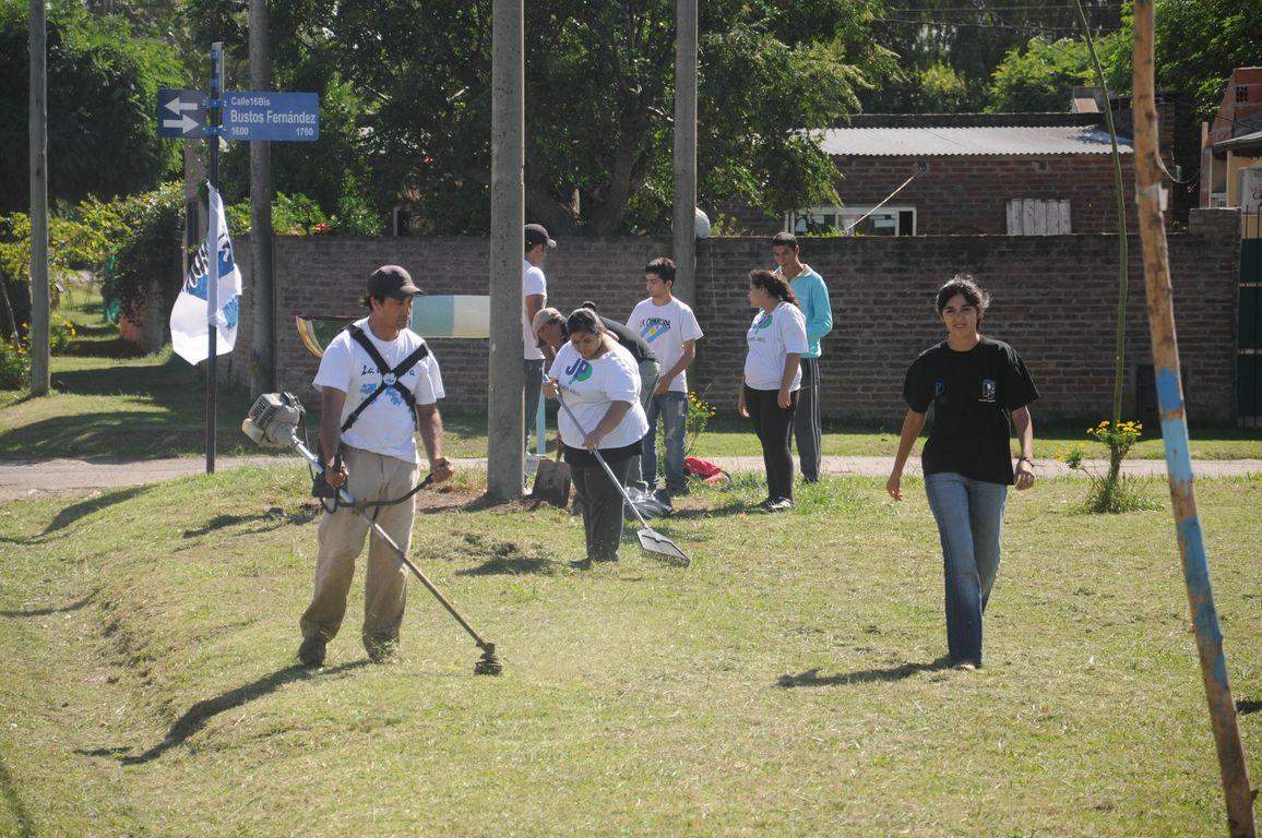 Unidos y Organizados en San Andrés de Giles recordando el Camporazo