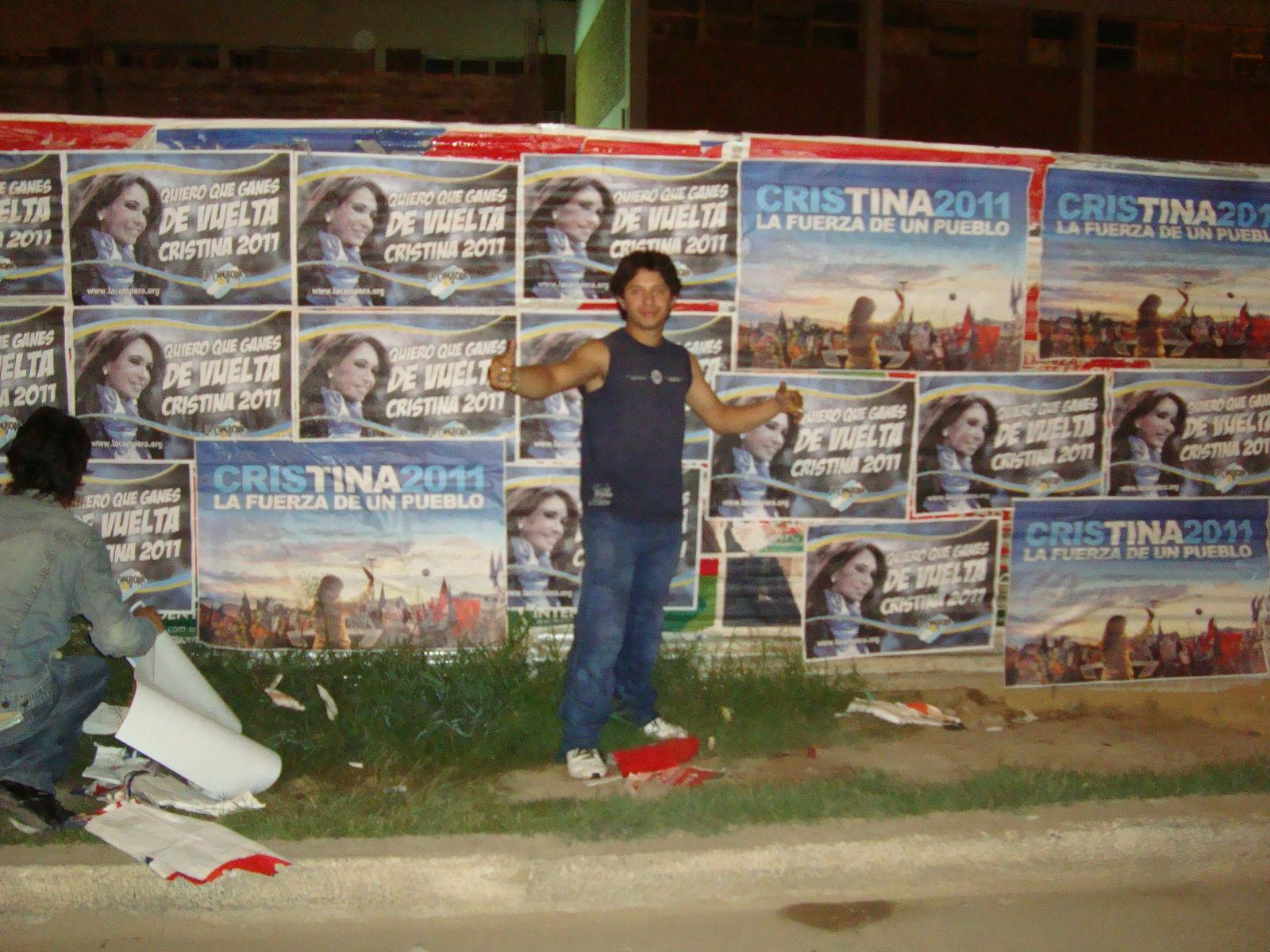 Pegatina en Chaco