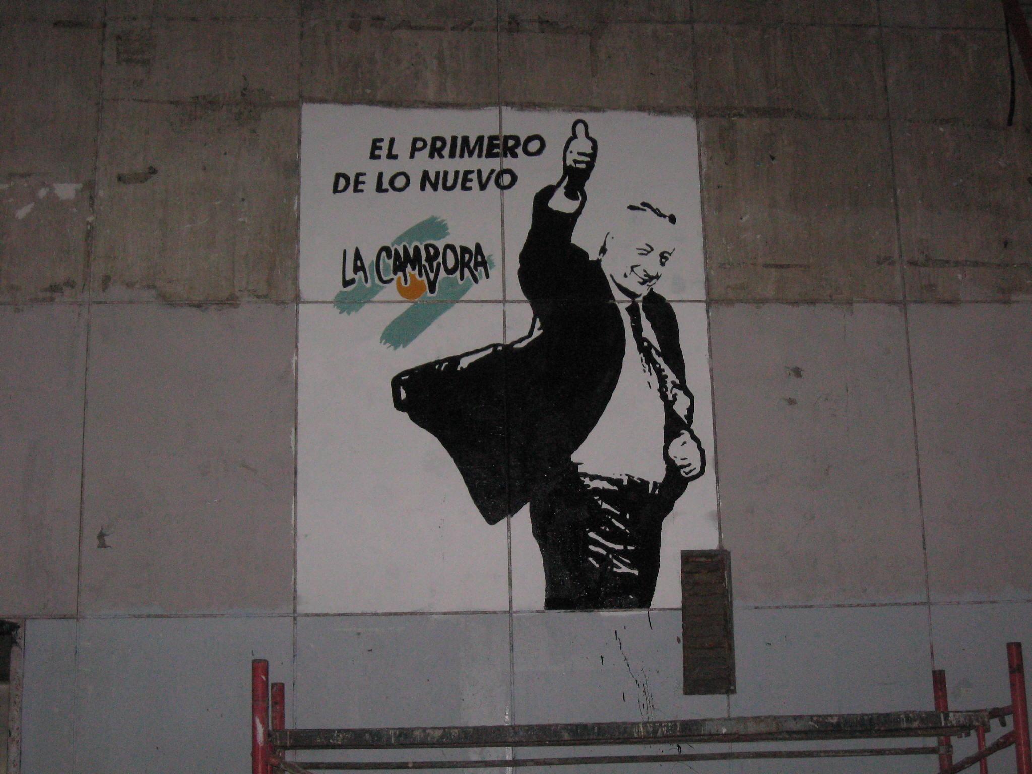 Mural en La Plata - Facultad de Derecho