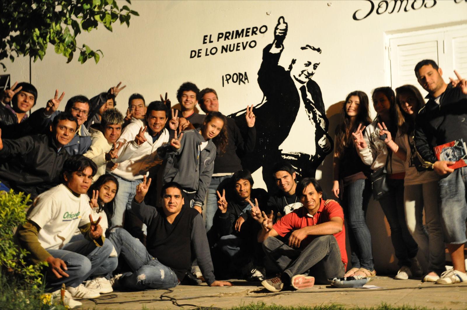 Mural en Chaco