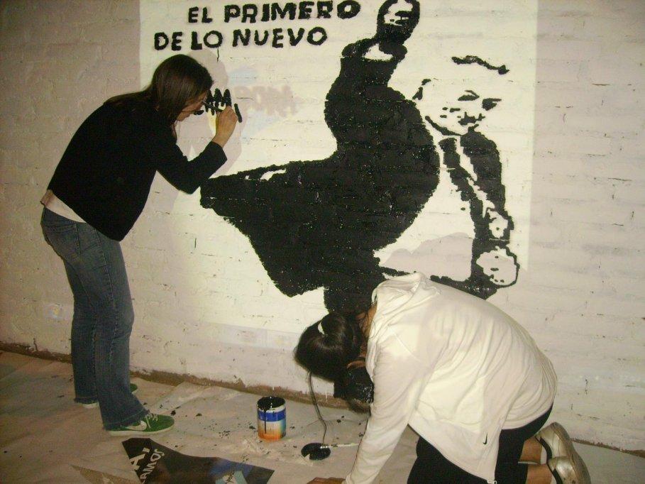 Mural en La Pampa