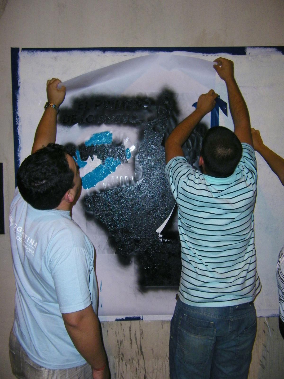 Mural en Misiones