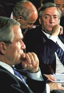 George_W_Bush_Nestor_Kirchner_durante_IV_Cumbre_Americas_noviembre_2005_Mar