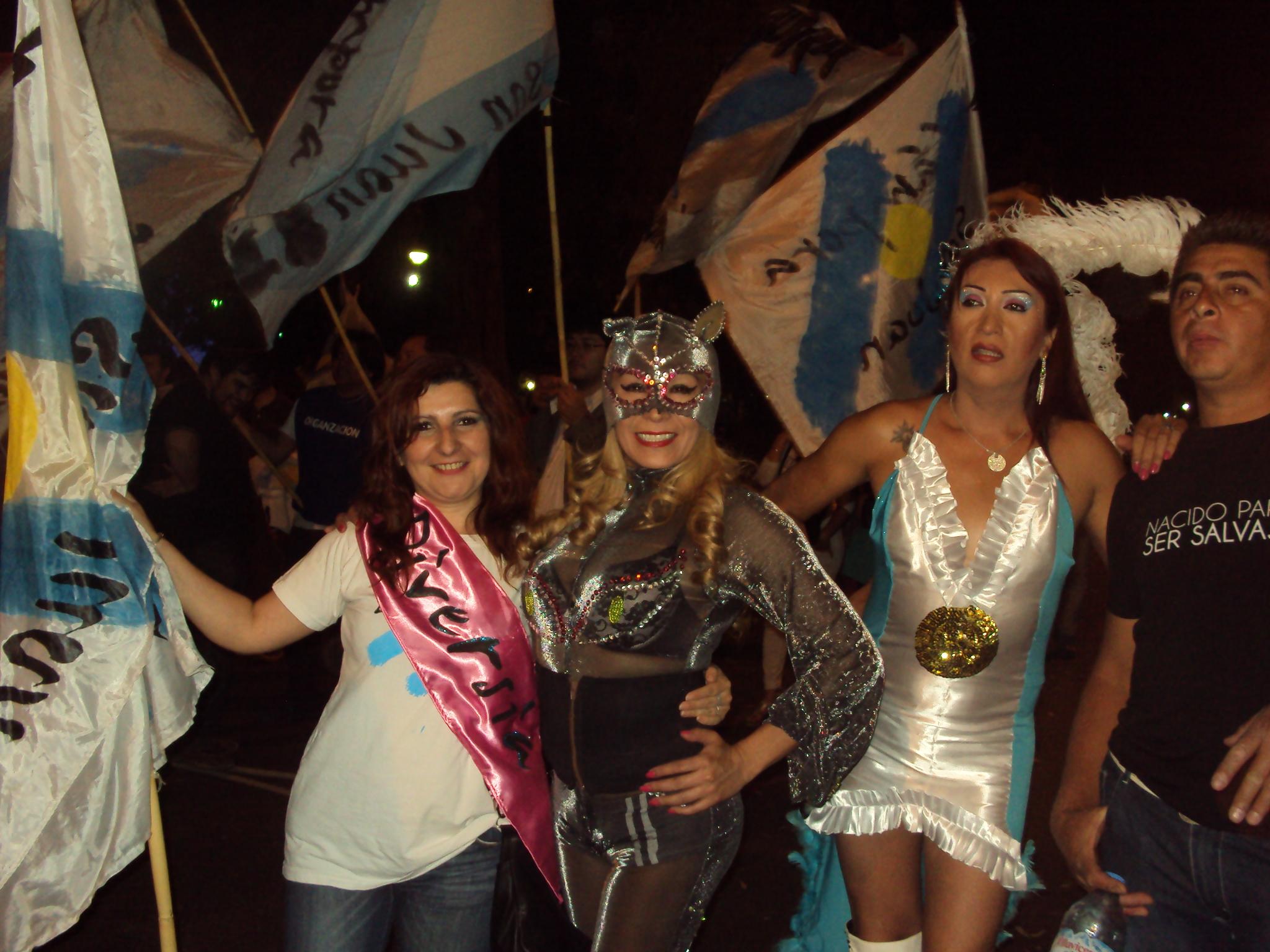 San Juan: La Cámpora Diversia, el amor y la igualdad