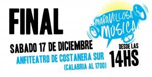 El sábado es la gran final de Maravillosa Música con Bersuit y Las Pelotas