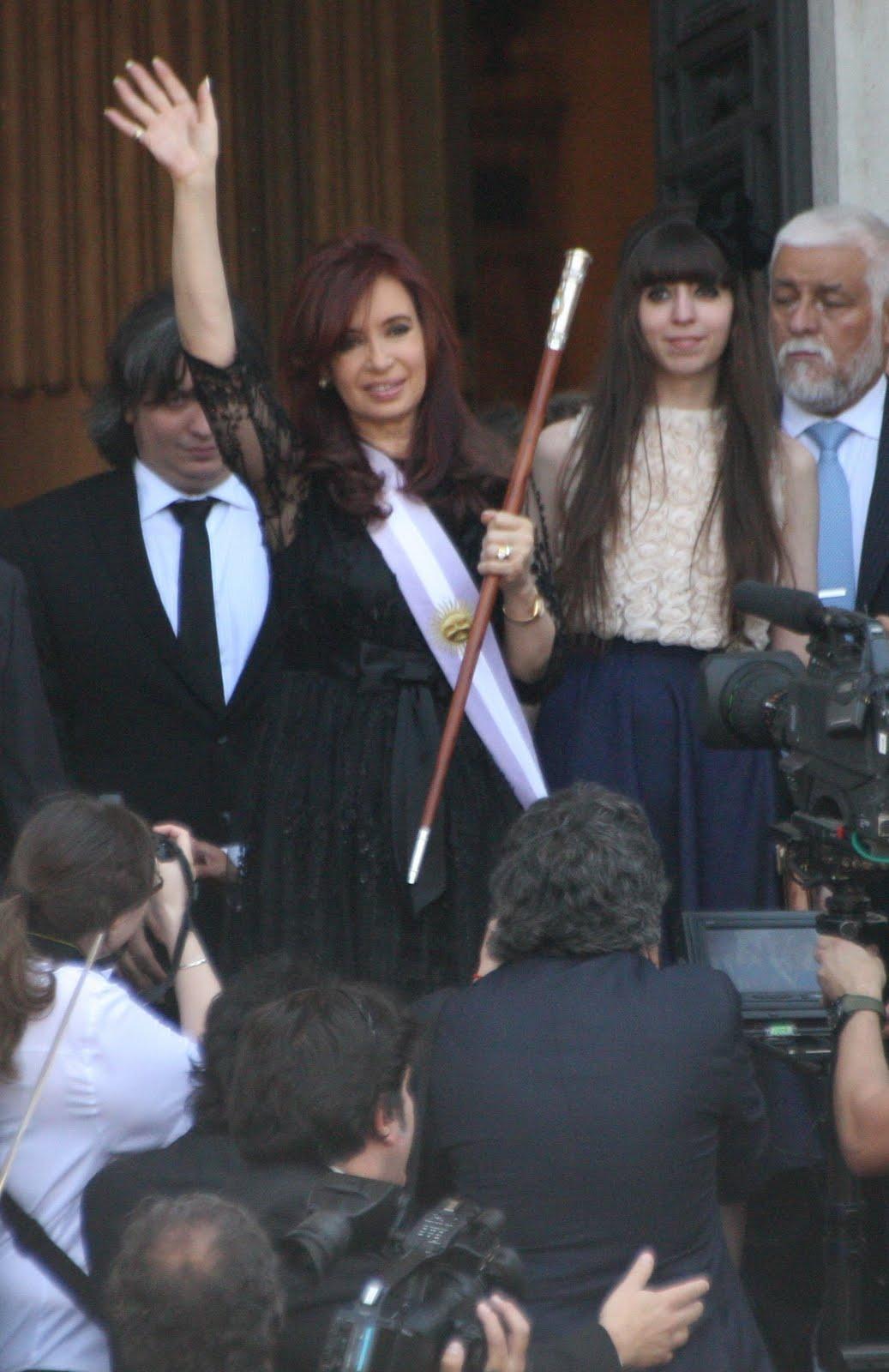 Asunción de Cristina - 10 de diciembre 2011