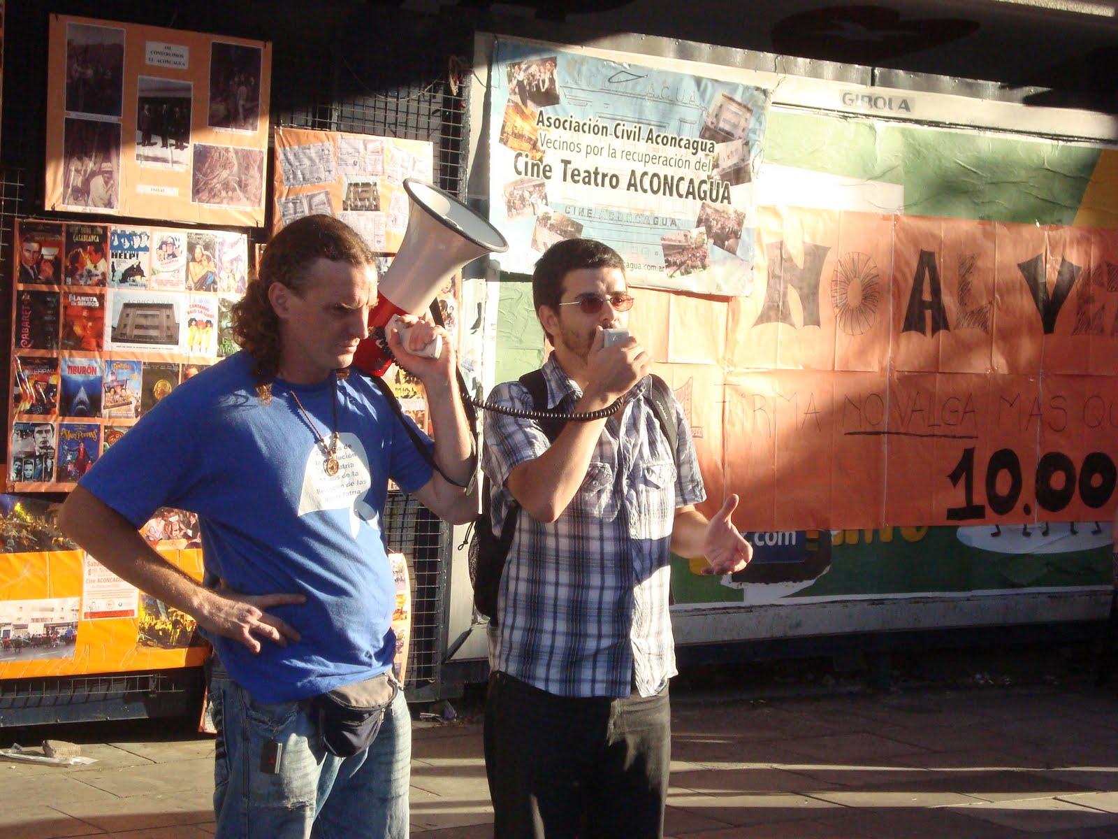 Cine Aconcagua: Frente al veto macrista, organización y lucha social
