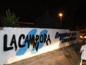 Mural en Florencio Varela: Organizar para transformar