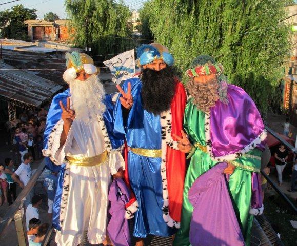 La magia de los Reyes en Quilmes.