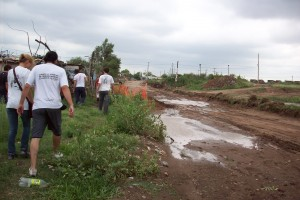 Córdoba : La Cámpora en las zonas afectadas por el temporal