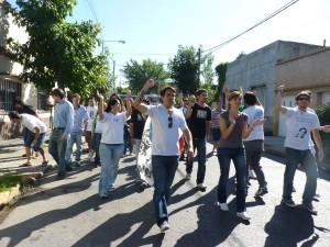 Jornada militante en la Pcia de Buenos Aires: Organizar para transformar
