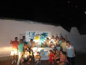 Misiones: Mural de Malvinas en Posadas