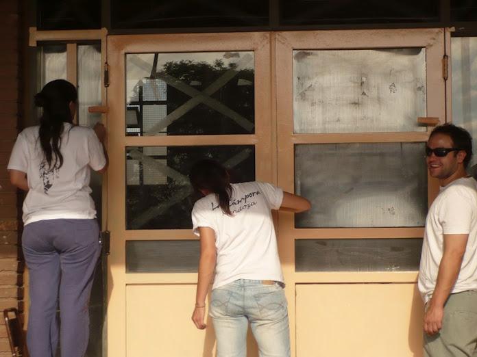 Pintada escuela Las Heras 3