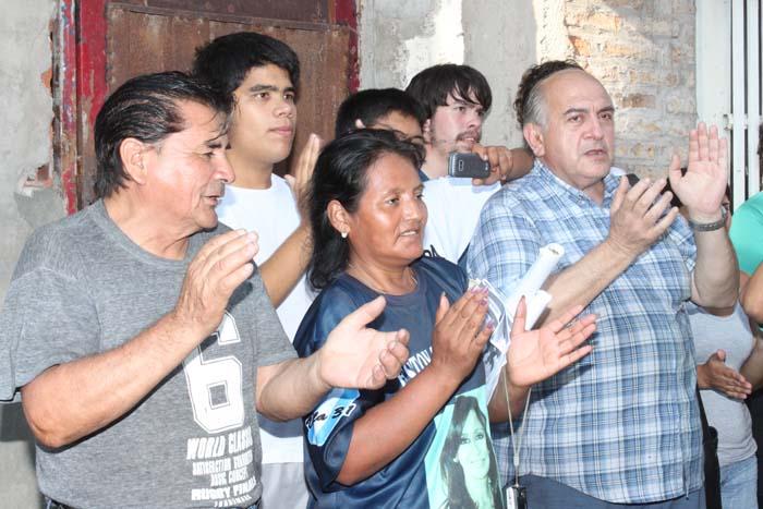 Homenaje a Héctor Cámpora en la Villa 31 y refacción de la Unidad Básica