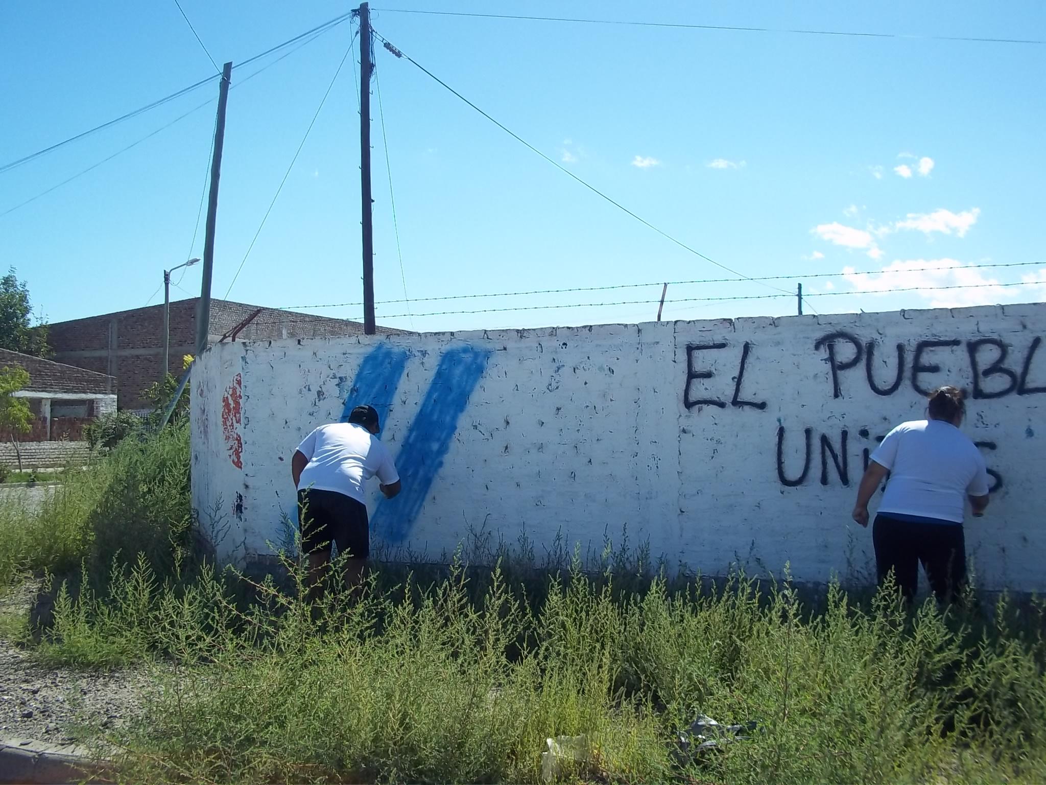 Pintadas en Luis Beltrán 05
