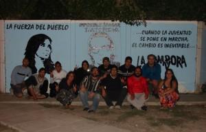 Puerto Madryn: mural y mateada