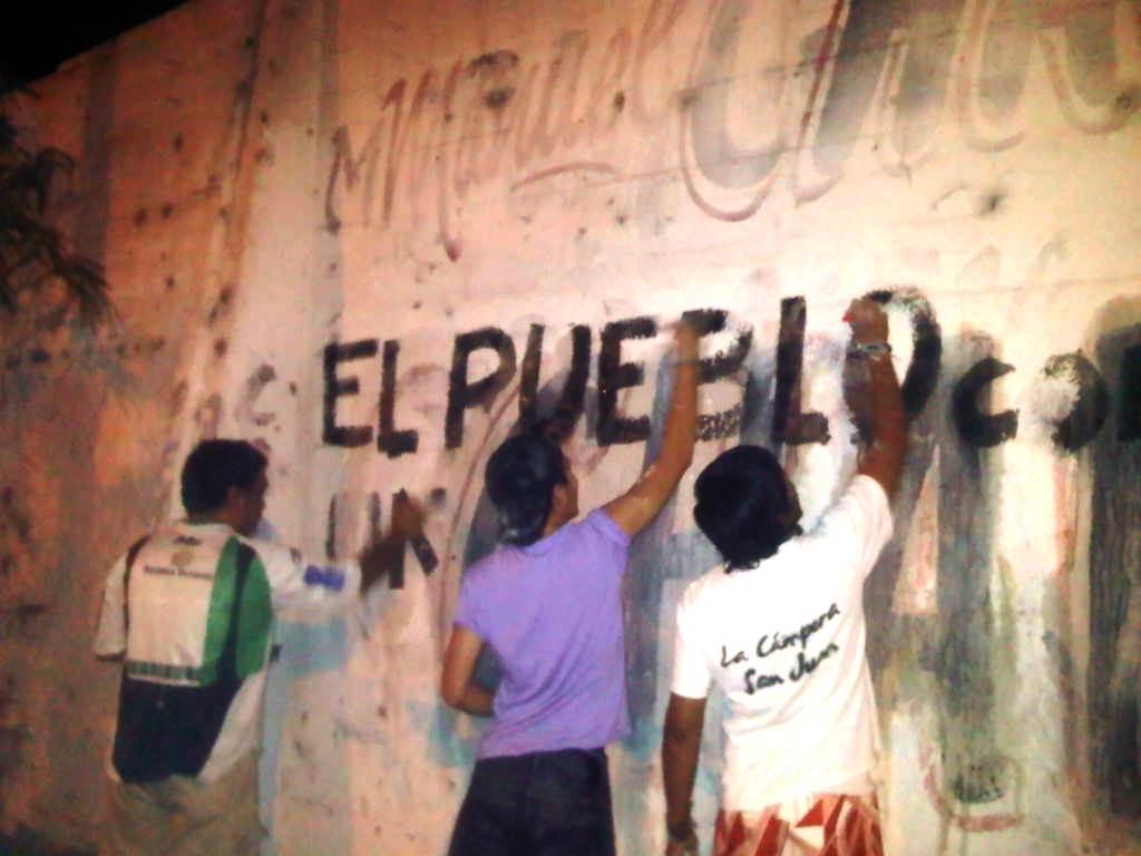 Pintadas en San Juan 03