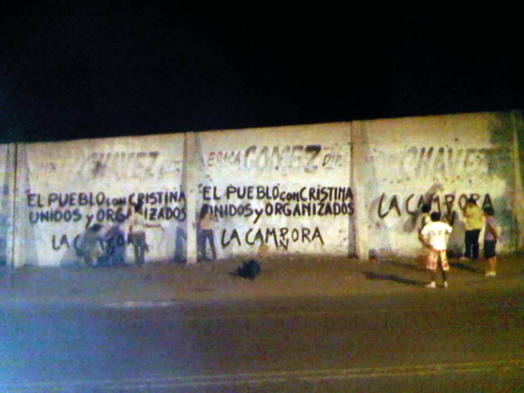 Pintadas en San Juan 06