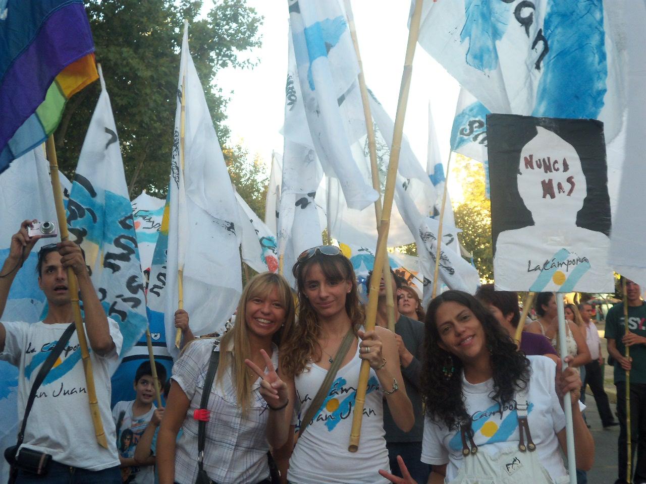 14 Marcha en San Juan