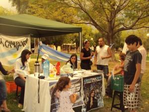 San Juan: mateada por la igualdad en Rivadavia