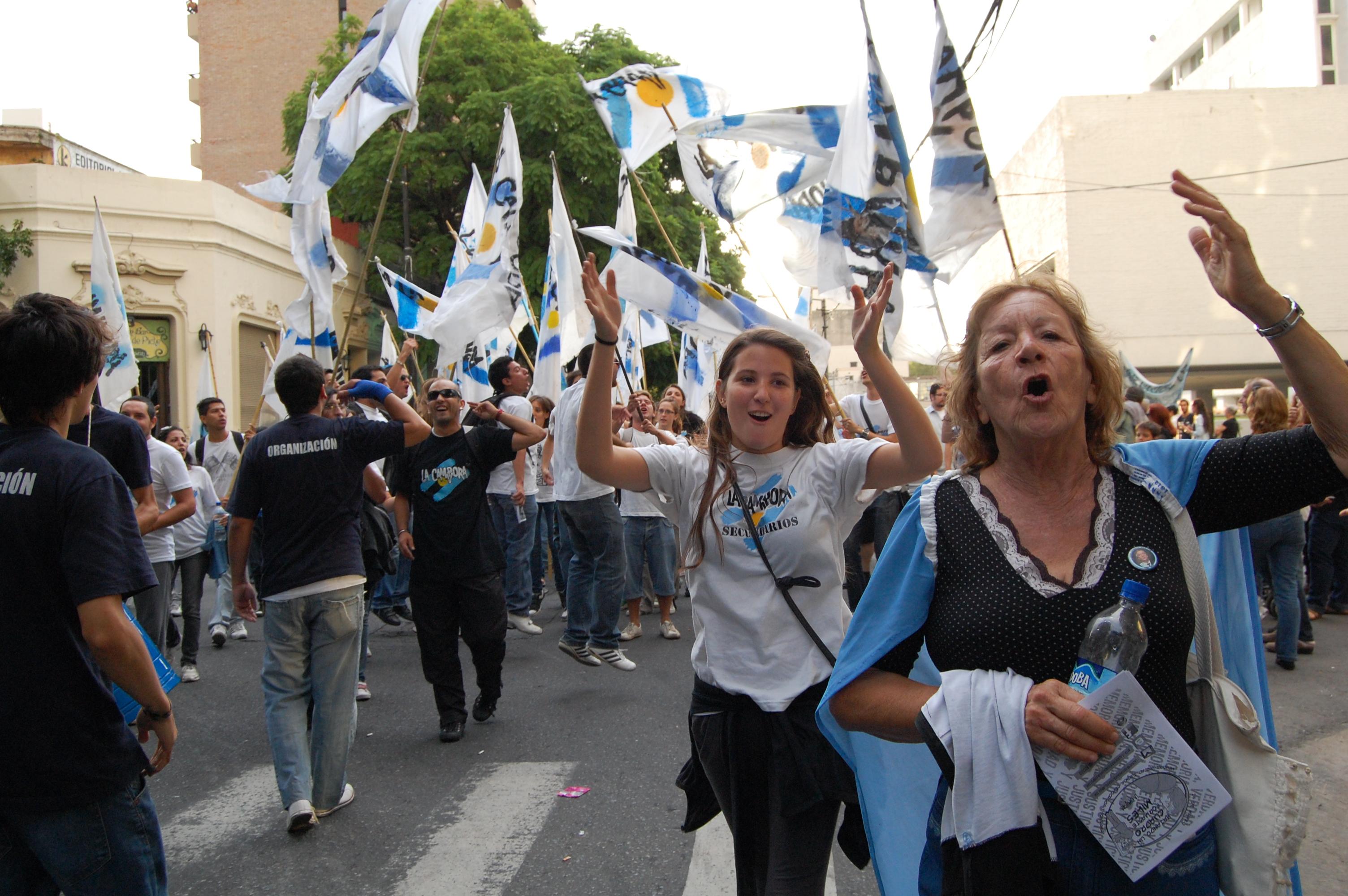 06 Marcha 24 de marzo en Rosario