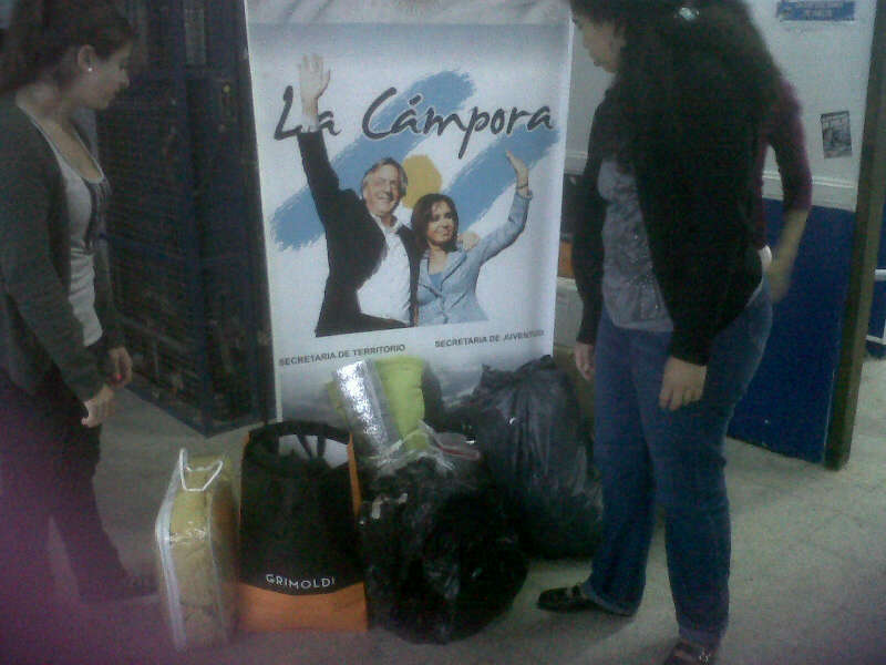 Campaña Solidaria en la Ciudad de Buenos Aires