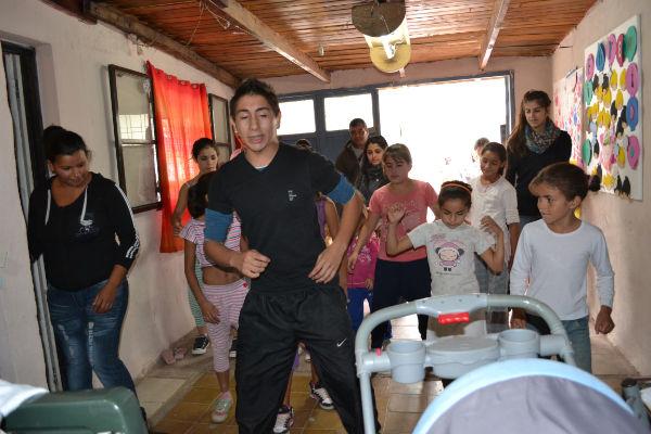 Integración barrial en Villa Cooperativa los Paraisos