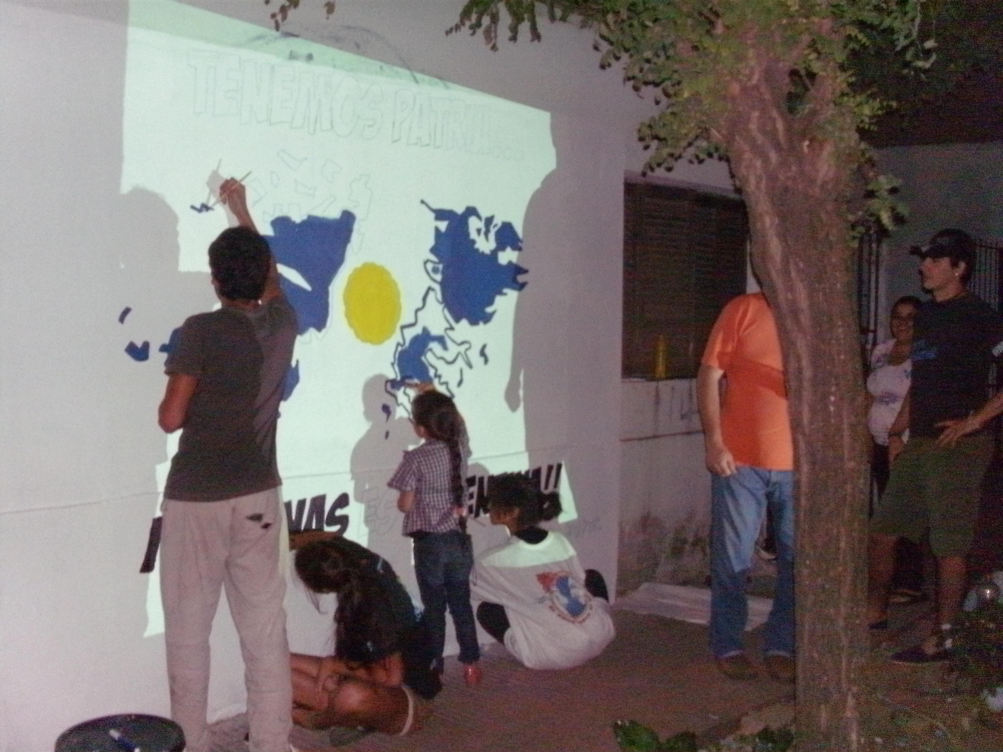 Mural Malvinas 8