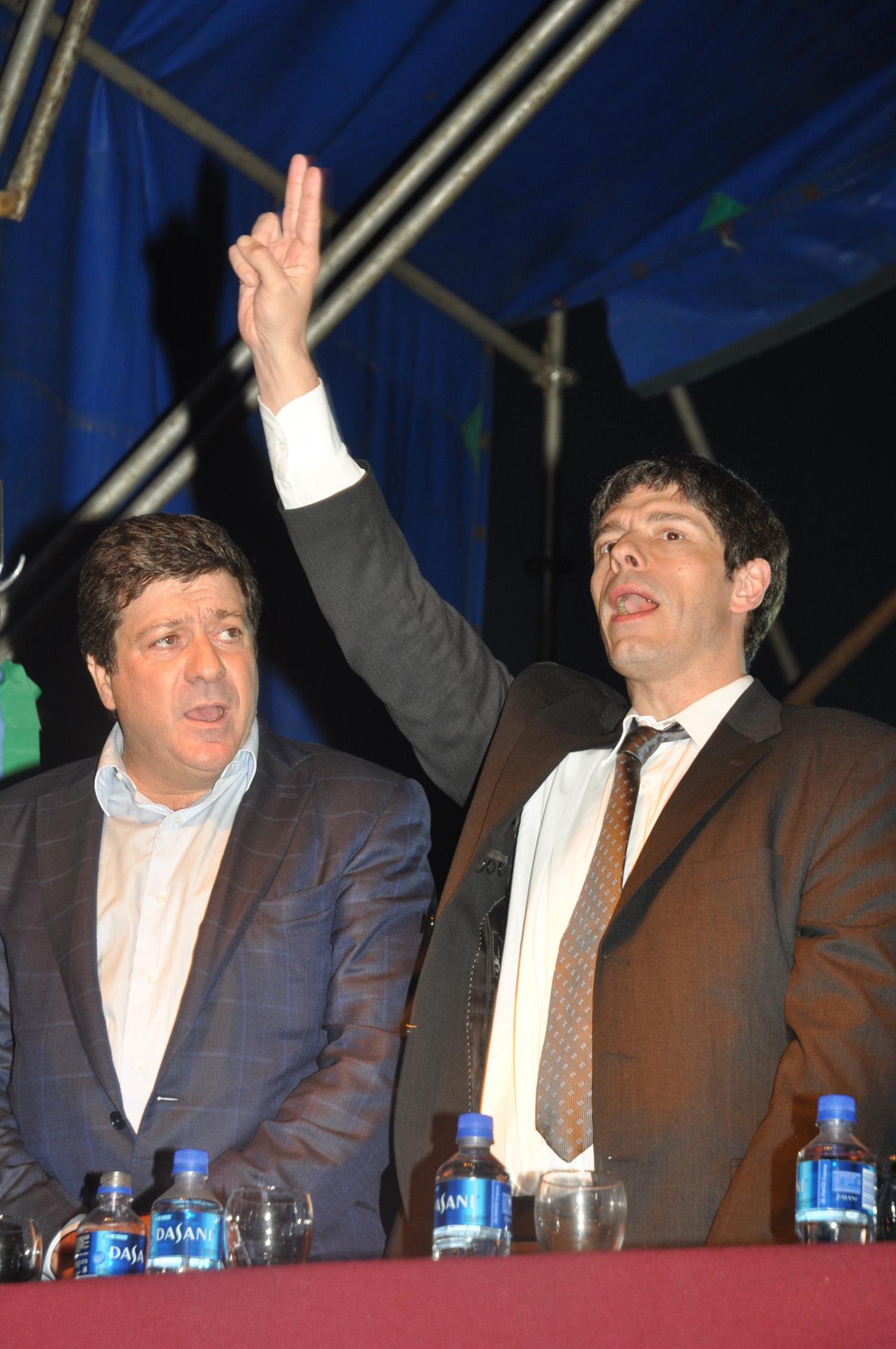 Inauguración edificio NK en La Plata