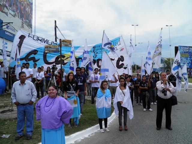 Formosa homenaje Malvinas