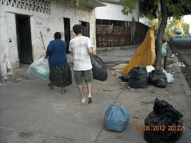Campaña Solidaria en la Comuna 9