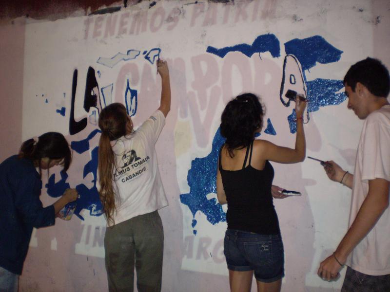 Mural Malvinas 18