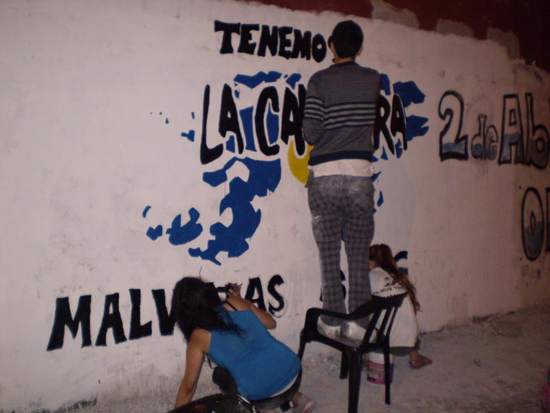 Mural Malvinas 20