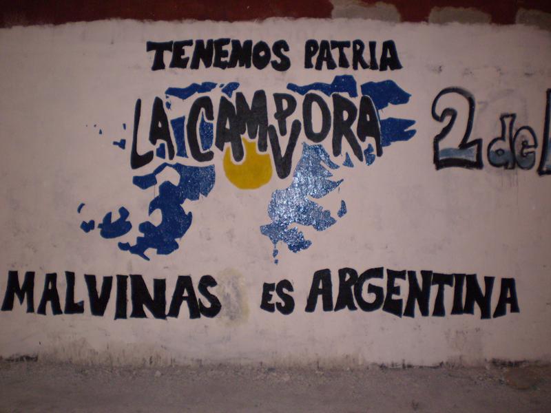Mural Malvinas 23