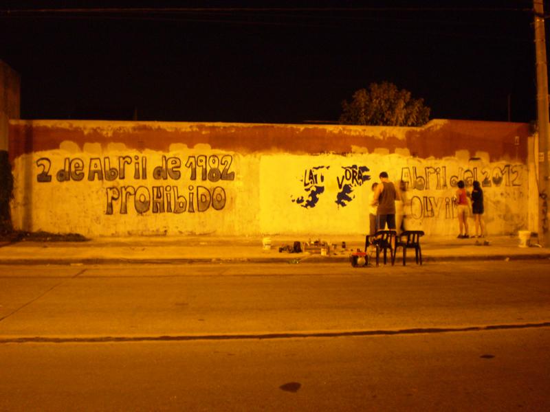 Mural Malvinas 26