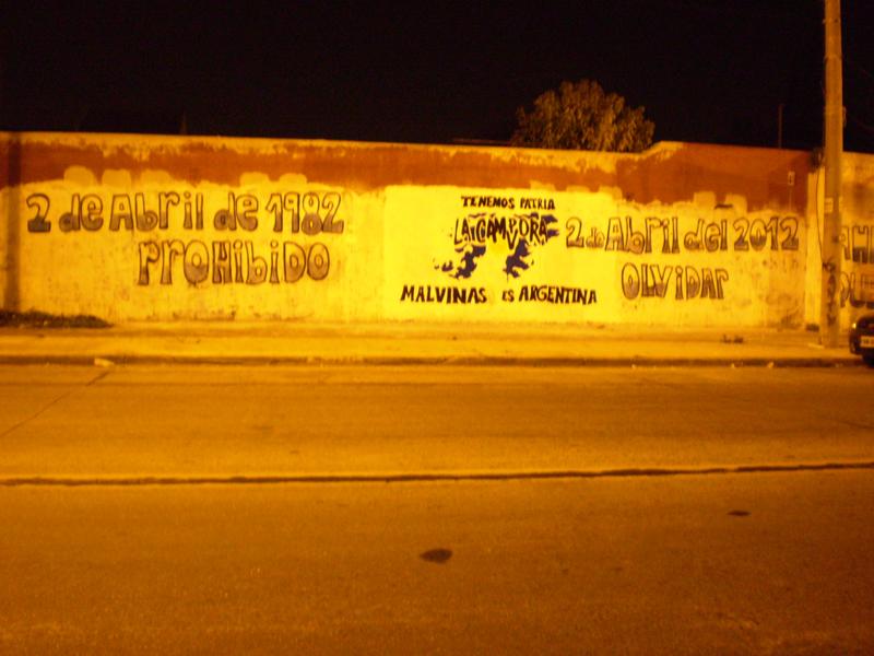 Mural Malvinas 28