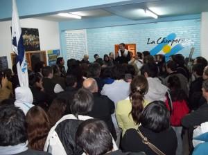 Tierra del Fuego: Charla debate de la militancia