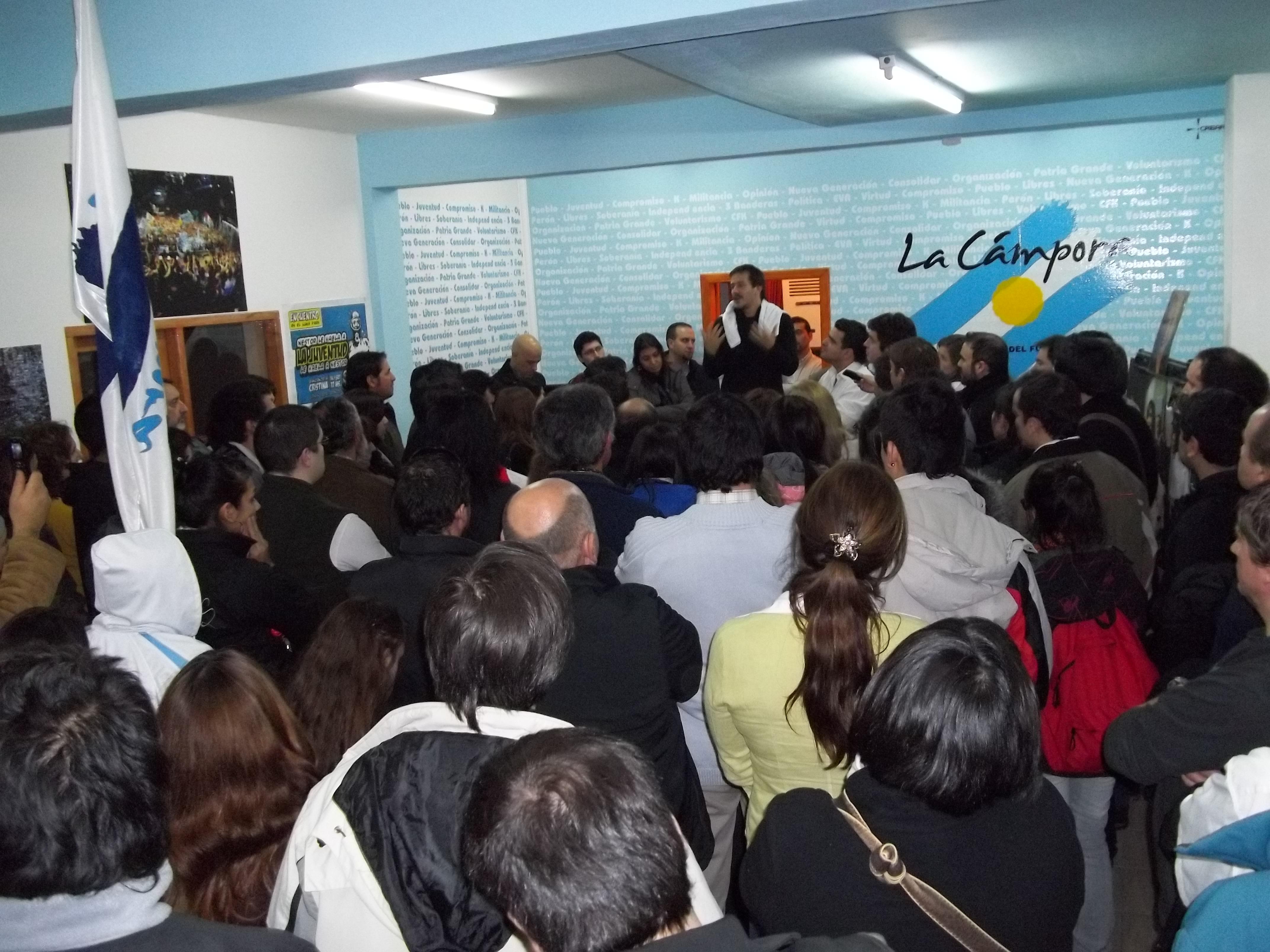 Mariano Recalde en Tierra del Fuego