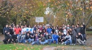 Jornada solidaria de La Cámpora en Azul