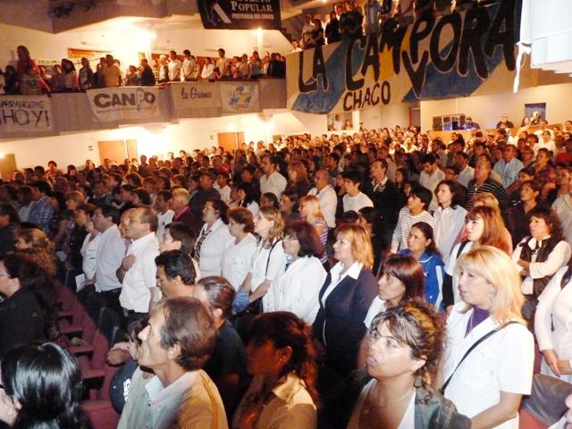Cabildo abierto en Chaco