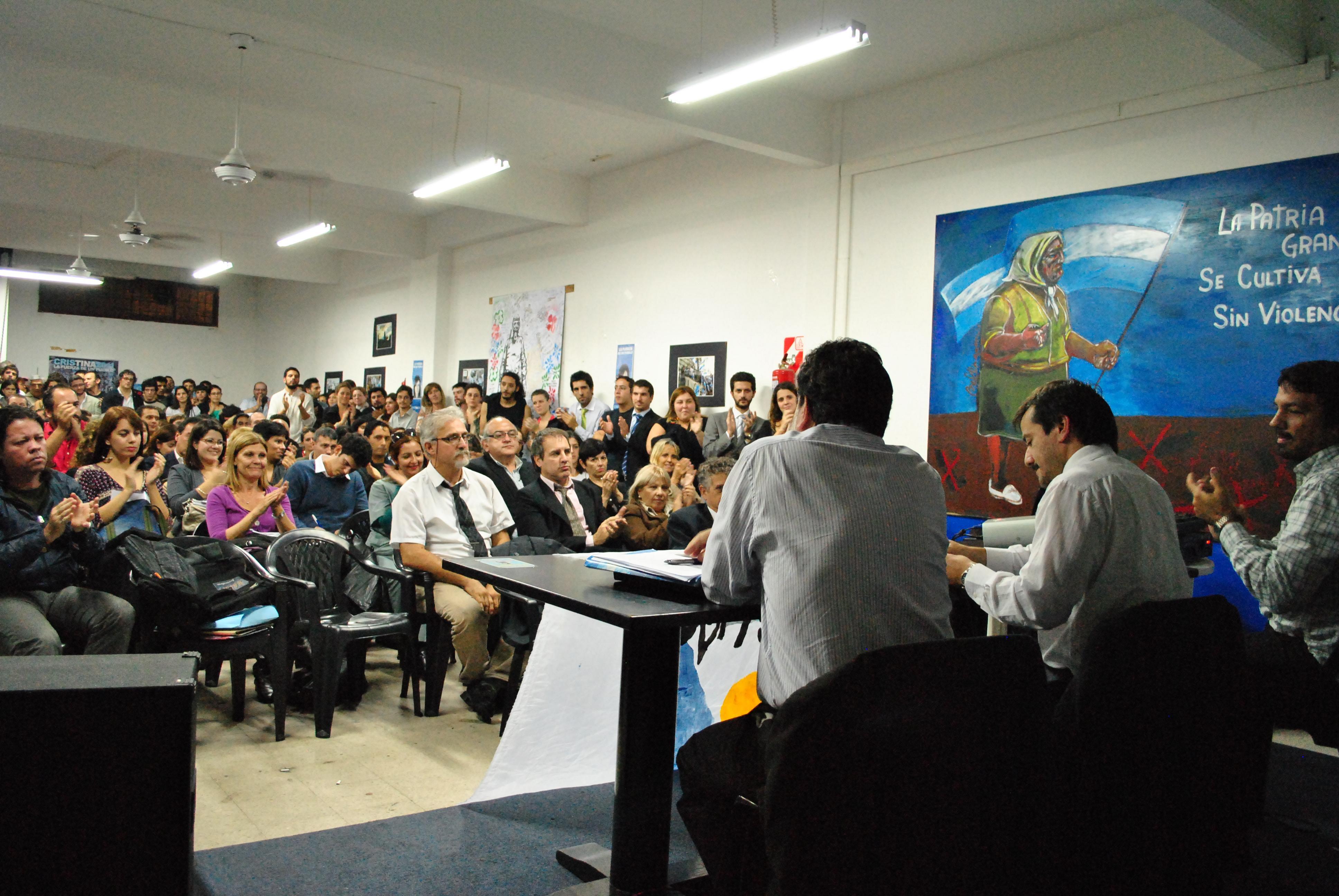 """""""Sintonía fina en el empleo"""" – Charla con Enrique Deibe y Mariano Recalde"""