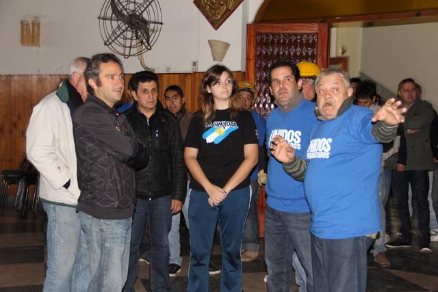 Unidos y organizados por el Club Glorias Argentinas
