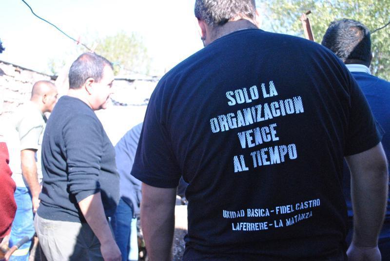 Jornada solidaria de La Cámpora Matanza en Puerta de Hierro