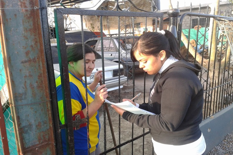 Jornada solidaria en Moreno