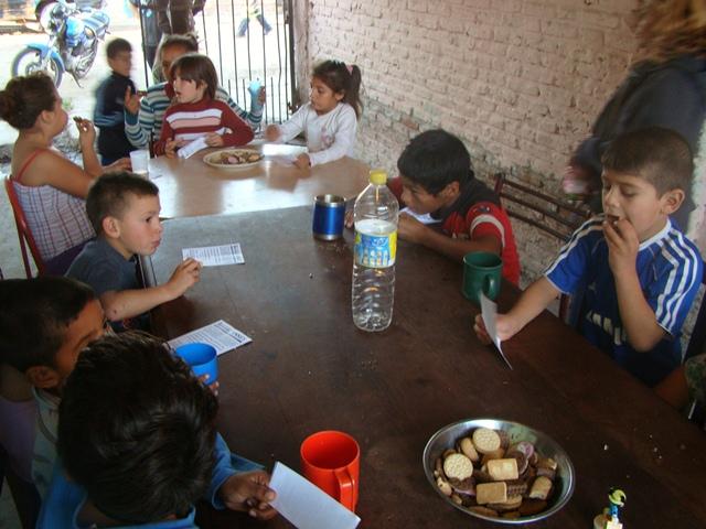 Merienda recreativa en Lomas de Zamora