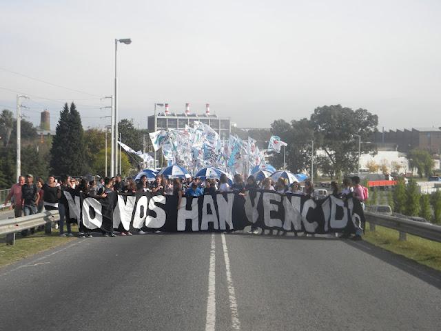 Cristina en Quilmes, La Cámpora presente