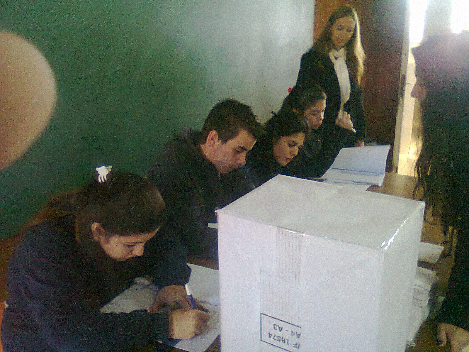 Elecciones en Secundarios