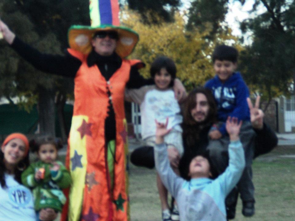 Jornada en barrio Rivadavia