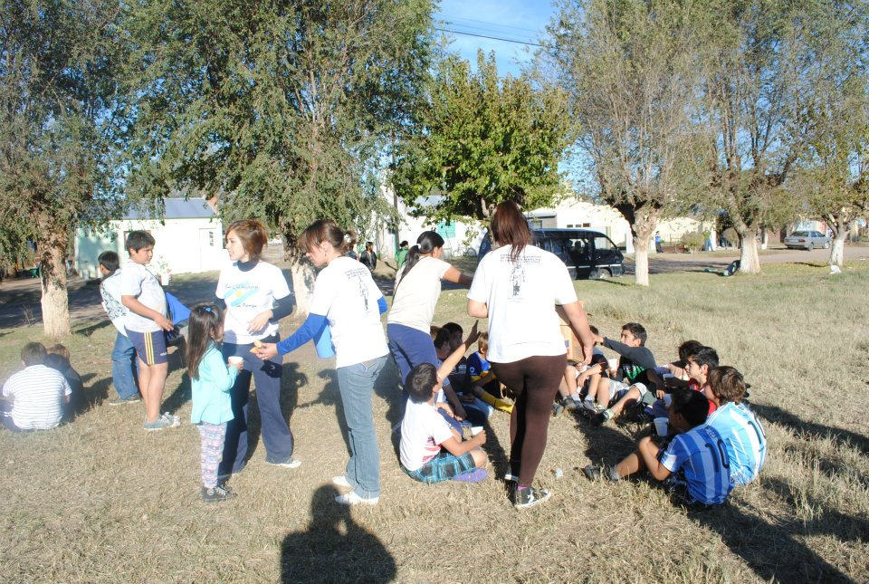 Torneo barrial en La Pampa